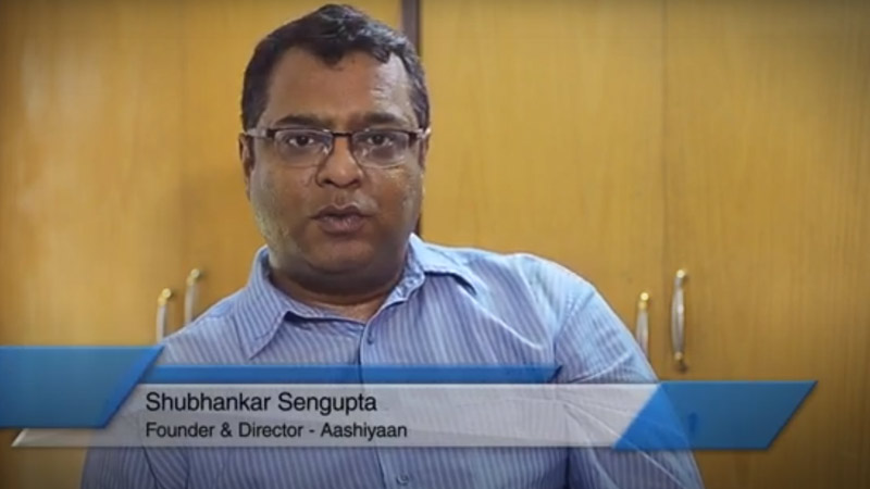NTT Global Data Centers and Cloud Infrastructure, India, came out on top  Aashiyaan founder Shubhankar Sengupta